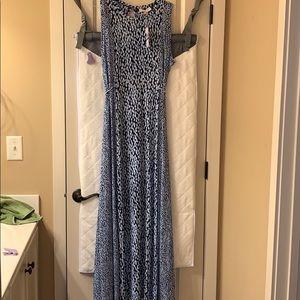 Michael Kors extra large beautiful blue maxi